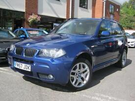 2008 BMW X3 2.0d M Sport,LE MANS BLUE.FULL BEIGE LEATHER,MUST SEE!!!
