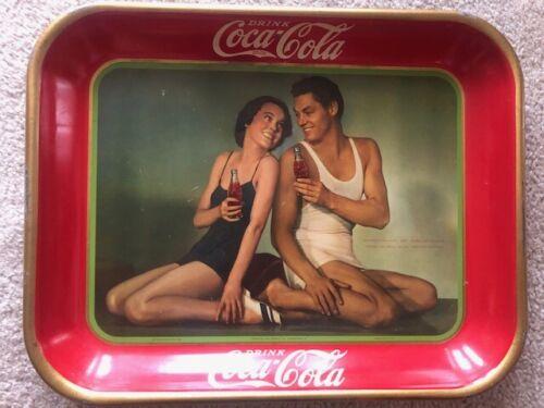 Original 1934 Coco Cola Tray