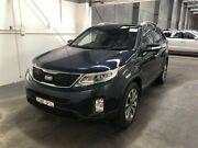 2013 Kia Sorento XM MY13 Platinum (4x4) Dark Blue 6 Speed Automatic Wagon Beresfield Newcastle Area Preview