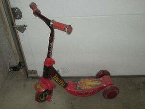 Red Kids Scooter