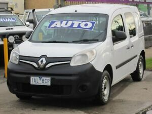 2013 Renault Kangoo F61 MY13 White 4 Speed Automatic Van Altona North Hobsons Bay Area Preview