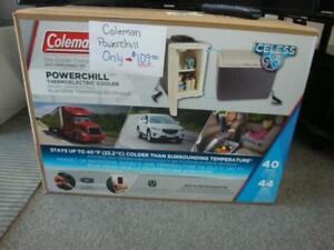 Coleman Powerchil 40 Quart Thermoelectric Cooler BRAND NEW
