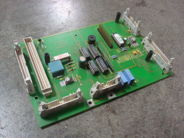 USED TRW Nelson LP-Adapter Stud Welder Control Panel Auxiliary Board 66-02-27