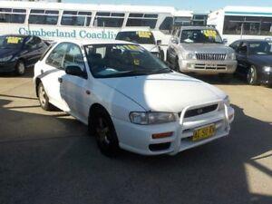 1998 Subaru Impreza N MY98 GX AWD White 5 Speed Manual Hatchback North St Marys Penrith Area Preview
