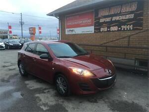 2010 Mazda Mazda3 GX****ONLY 140 KMS****HATCHBACK***AUTO