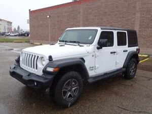 2018 Jeep Wrangler Unlimited SPORT 4X4 AUTOMATIC