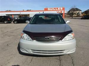 2004 Toyota Camry LE-WOW 74400KM CERTIFIED MILEAGE