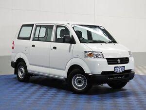 2013 Suzuki APV GD MY06 Upgrade White 5 Speed Manual Van Jandakot Cockburn Area Preview