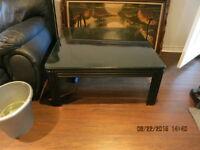 Table de salon basse carré 36 x 36