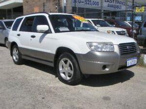 2006 Subaru Forester MY06 X Luxury White 4 Speed Auto Elec Sportshift Wagon Wangara Wanneroo Area Preview