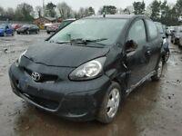 2010 TOYOTA AYGO BLACK DRIVER SIDE REAR LIGHT (BREAKING)