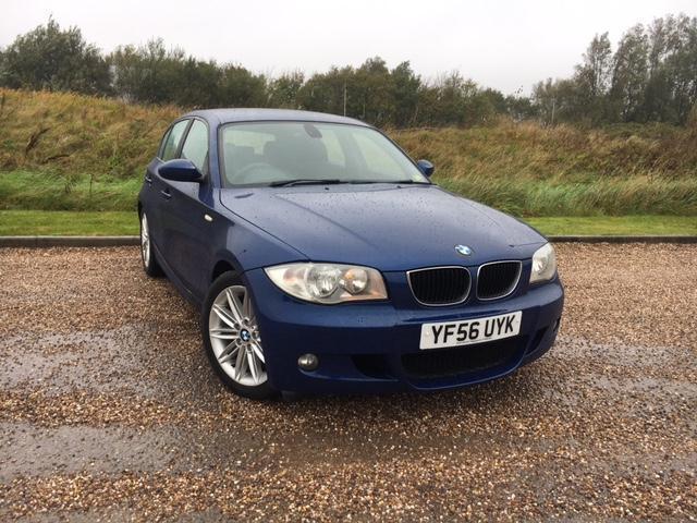 BMW 118I M-SPORT 5 DOOR 2006 56 *ONLY 59K MILES, FSH, NEW MOT, CLEAN CAR*
