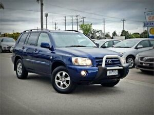 2004 Toyota Kluger MCU28R CVX AWD Blue 5 Speed Automatic Wagon Cheltenham Kingston Area Preview