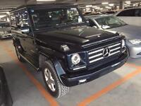 Mercedes G Wagon G Wagen G 500 LHD V8 Blue Black G55 Styling