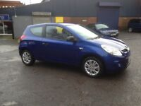 2010 HYUNDAI I20 1.2 - NEW M.O.T - VERY GOOD CONDITION, CHEAP TO RUN AND INSURE
