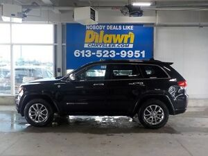 2014 Jeep Grand Cherokee Overland with Tech Package