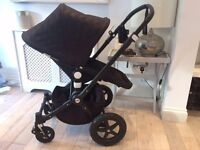 Bugaboo Cameleon 3 Pushchair - Limited Edition Black Chevron