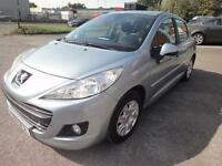 LHD 2011 Peugeot 207 Automatic 1.6 Petrol 5 Door UK REGISTERED