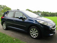2007 (07) Peugeot 207 SW 1.6HDi 90 ( a/c ) S Estate ***FINANCE ARRANGED***