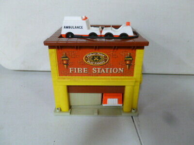 1970's Fisher Price Play Family Fire Station
