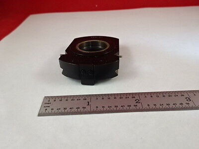 Microscope Part Zeiss Polarizer Objective Holder Pol Optics As Is X6-b-11