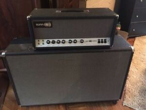 1968 SUNN Sentura 1 head and 1972 Yorkville cabinet