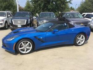 2014 Chevrolet Corvette Stingray CONVERTIBLE BLUE 7 speed blue