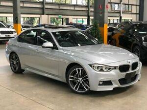 2017 BMW 330i F30 LCI M Sport Sedan 4dr Spts Auto 8sp 2.0T Silver Sports Automatic Sedan