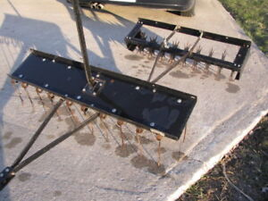 Lawn Aerator and Dethatcher For Sale
