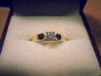 0.25 Ct diamond solitaire ring (brand new )