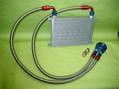 Burstflow Universal Nachrüstsatz Kit Ölkühler 19 Reihen AN10 passend für AUDI