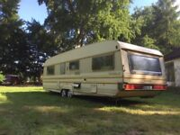 Tabbert Touring Caravan. Very Good Condition. Very Large.