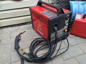 2 Lincoln mig welder's Hardy Core Arcweld 1 wire feed 1 Stick
