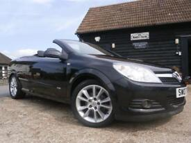 07 VAUXHALL ASTRA 1.8i 16v TWIN TOP CONVERTIBLE DESIGN A GENUINE 41377 MILES FAB