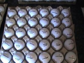20 DUNLOP GOLF BALLS WITH MARKS £ 3.60