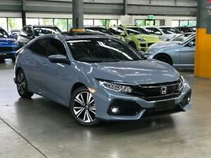 2017 Honda Civic 10th Gen VTi-LX Hatchback 5dr CVT 1sp, 1.5T (5yr warranty) [ Grey Constant Variable