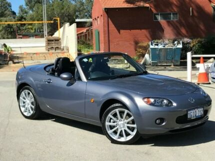 2006 Mazda MX-5 NC30F1 MY07 Roadster Coupe Grey 6 Speed Manual Hardtop Palmyra Melville Area Preview