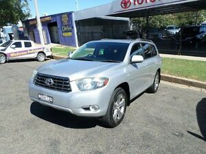 2010 Toyota Kluger GSU45R MY11 KX-S AWD Silver 5 Speed Sports Automatic Wagon Burrangong Young Area Preview