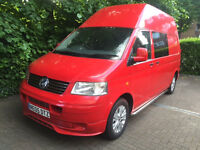 Stunning Volkswagen Transporter 2.5 cc T30 130 TDI Campervan, Automatic, 86000 Miles!