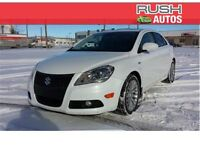 2013 Suzuki Kizashi SX LEATHER AWD ROOF LOW KM Financing Avail