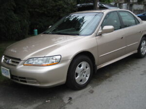 2002 Honda Accord V6 EX-clean, fully loaded, low mileage
