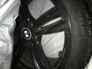 Michelin P4 Winter tires and M4 Replica rims