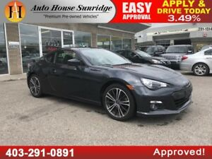 2015 SUBARU BRZ 6 SPEED MANUAL LIMITED