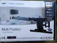"""AVF premium TV wall mount for 40-60"""" TVs. Multi position"""