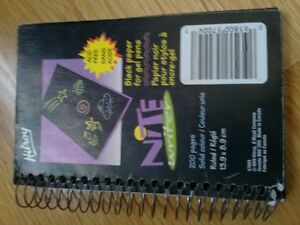 Hilroy black ruled lined sheets journal diary