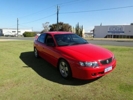 2002 Holden Commodore VY SV8 Red Hot Sunglo 4 Speed Automatic Sedan Wangara Wanneroo Area Preview