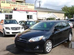 2012 FORD FOCUS AUTO lLOADED 78K -100% APPROVED FINANCING