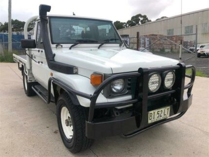 1992 Toyota Landcruiser HZJ75RP White 5 Speed Manual Cab Chassis Greenacre Bankstown Area Preview