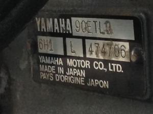 Trim Motor For 90 HP Yamaha 2 Stroke Outboard Motor