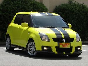 2009 Suzuki Swift RS416 Sport Yellow 5 Speed Manual Hatchback Blair Athol Port Adelaide Area Preview